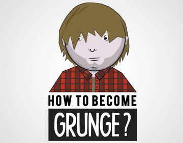 Infographic – How to become grunge?